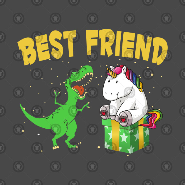 5ebd65bf Awesome Unicorn and T-rex Best Friends Funny - This Is Matching For ...