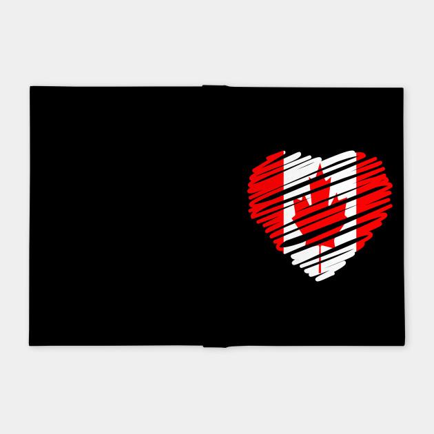 Canadian Heart Flag