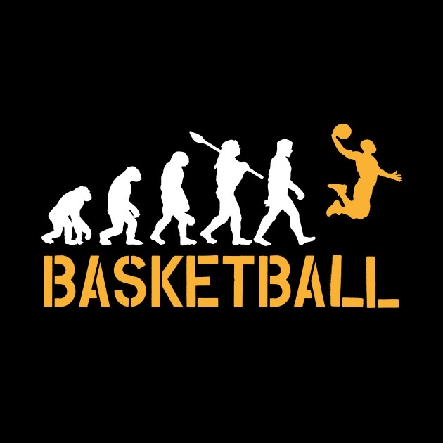 Basketball Lover Player Coach Fan T-Shirt Gift Evolution