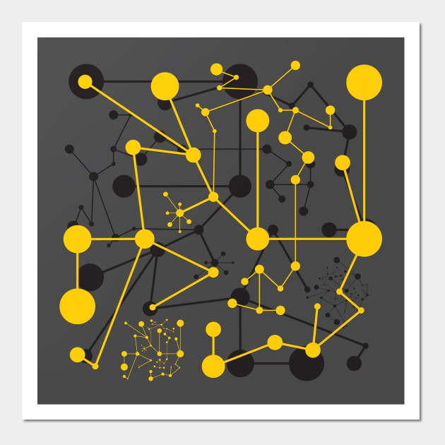 Titik garis two dot line wall art teepublic 2546111 0 ccuart Image collections