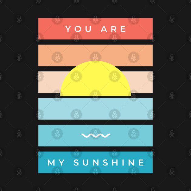 You Are My Sunshine Shirt / Women's Shirt / Women's Clothes / Vintage Retro Style Tee / Ladies Graphic T-shirt / You Are My Sunshine Tee
