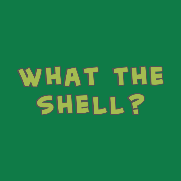 What the Shell - Middle Finger Turtle