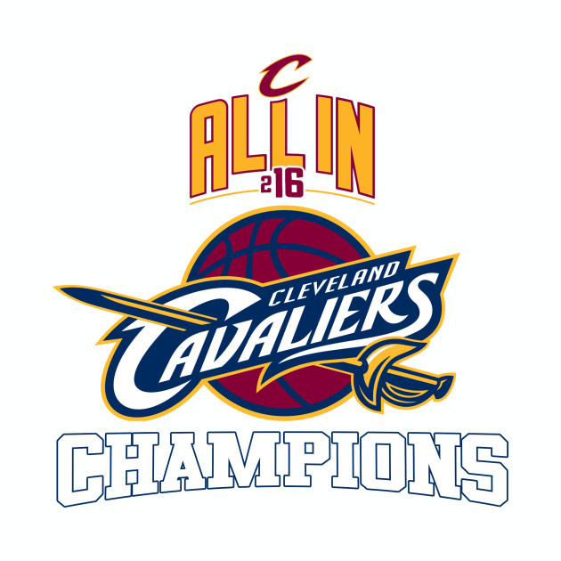Cavs 2016 Champions All In