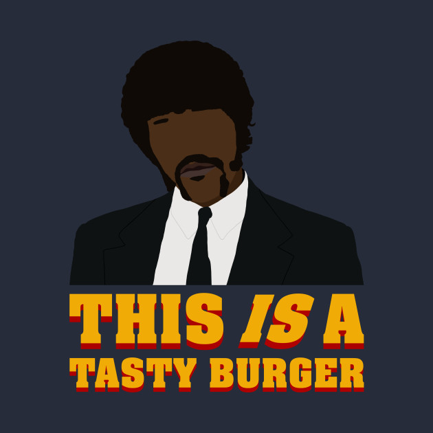 This is a tasty burger.