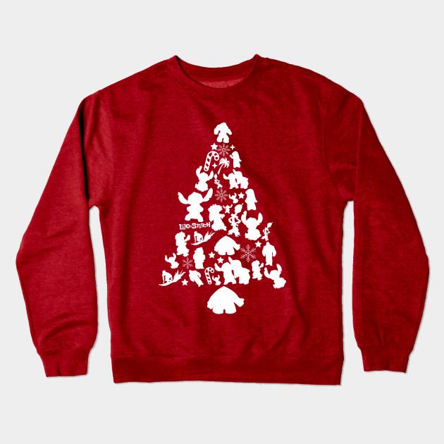3a36eb9a9 Lilo and Stitch Christmas Tree Silhouette - Lilo And Stitch ...