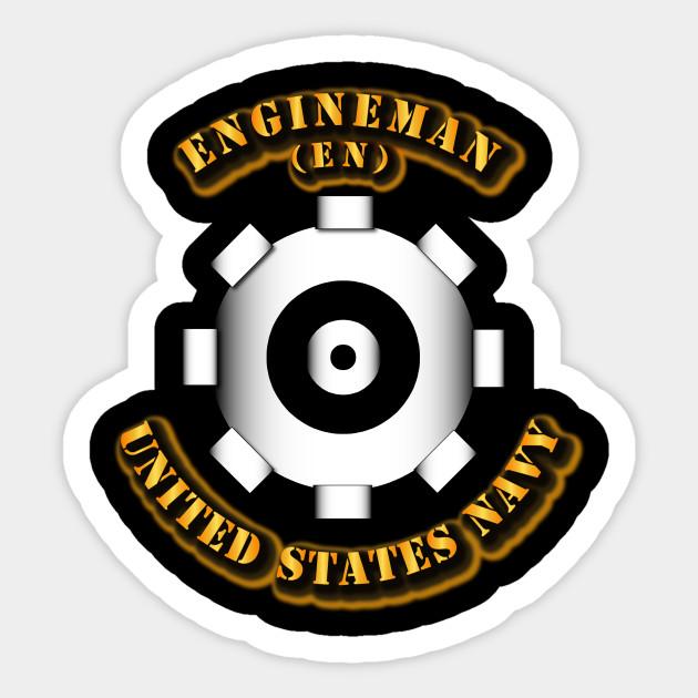 navy rate engineman navy rate engineman sticker teepublic