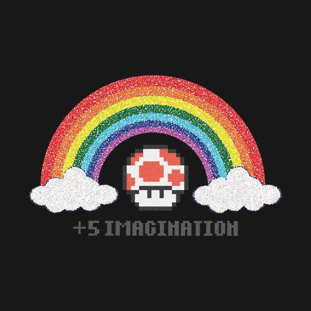 Mushroom Imagination Pixel Art Funny Shirt 2
