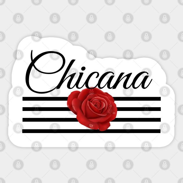 Chicana Mexican Quotes Bidi Bidi Bom Bom Sticker Teepublic