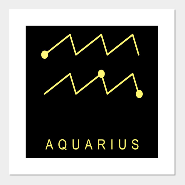 ZODIAC SIGNS T-SHIRT Aquarius