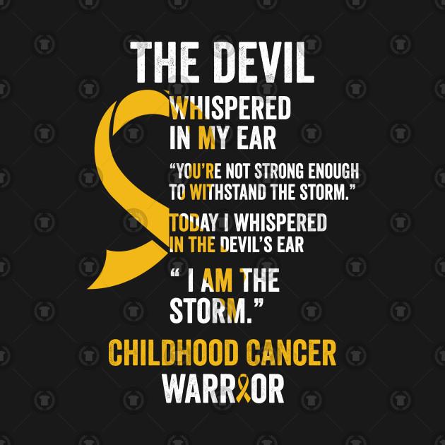 be35bdf25ea Childhood Cancer Gifts- Childhood Cancer Awareness Tshirts