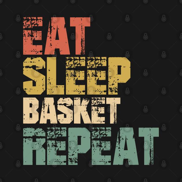 Eat Sleep basket Repeat