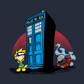 Spiff and the Doctor!