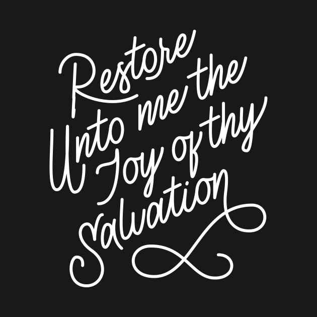 Restore Unto Me