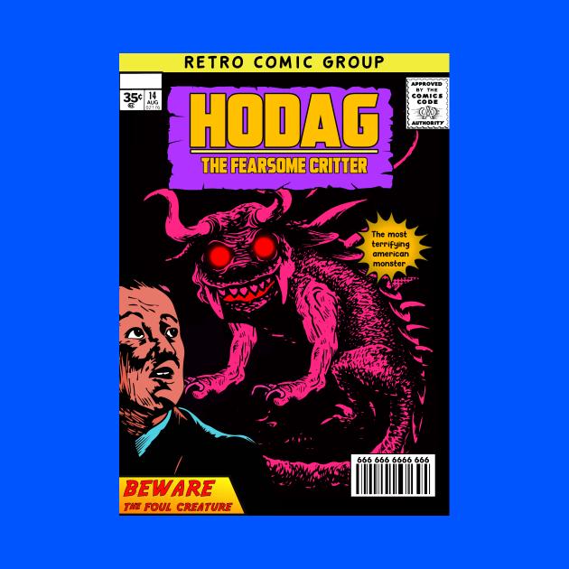HODAG cryptid comic