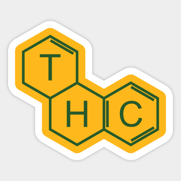 Chemical bonding - THC (grass green)
