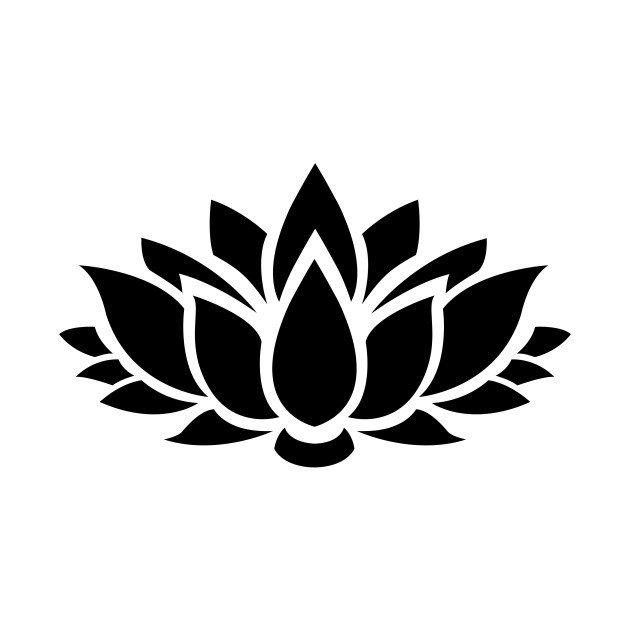 Limited Edition Exclusive Lotus Flower Silhouette 6 Lotus Flower