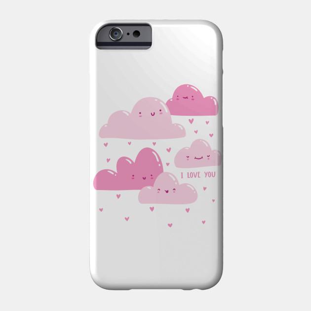 Pink Valentine Clouds