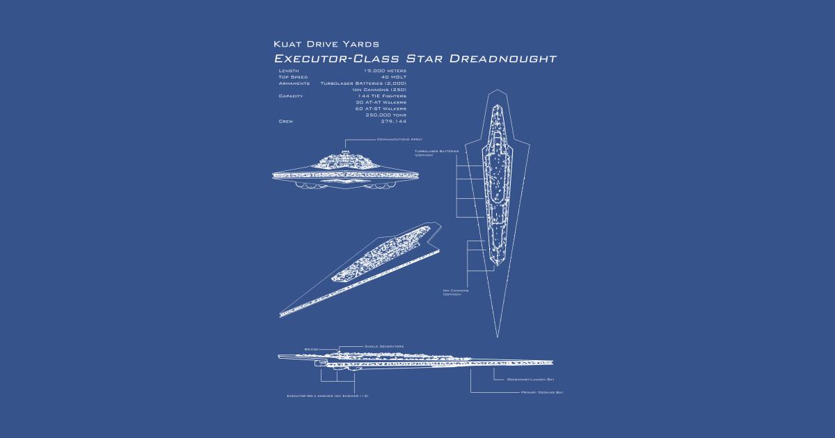 Executor Super Star Destroyer Blueprint -