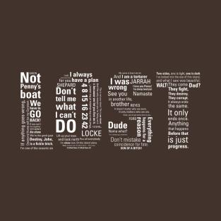 LOST t-shirts