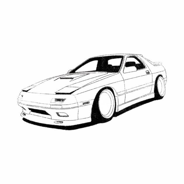 Mazda Rx 7 Racing