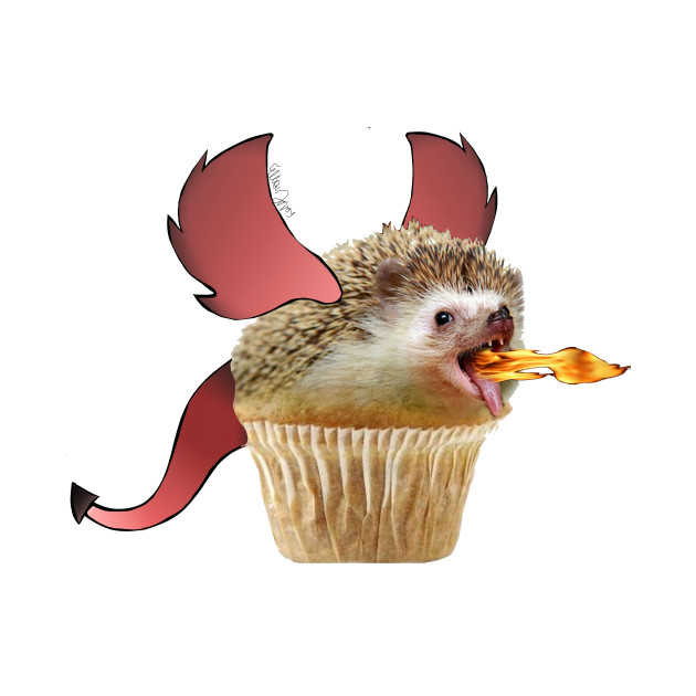 Hedgehog Muffin Dragon