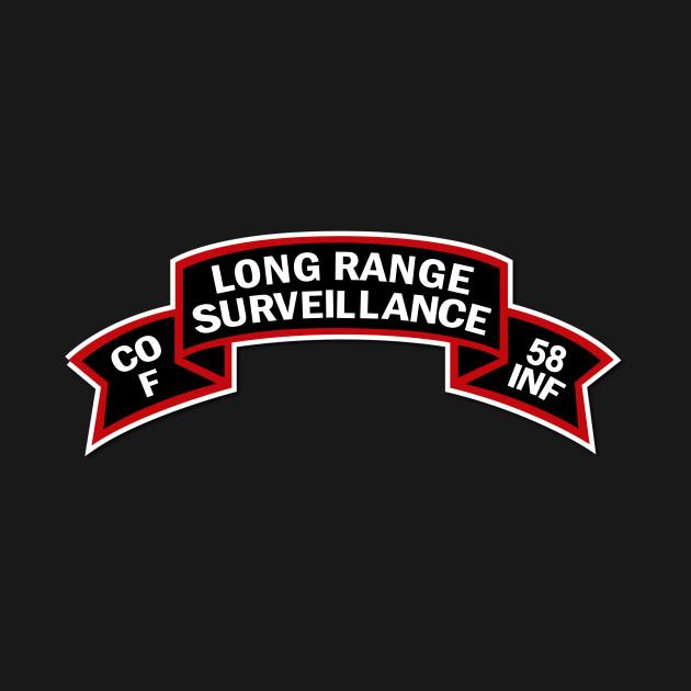 F Co 58th Infantry (Ranger) Scroll - LRRP