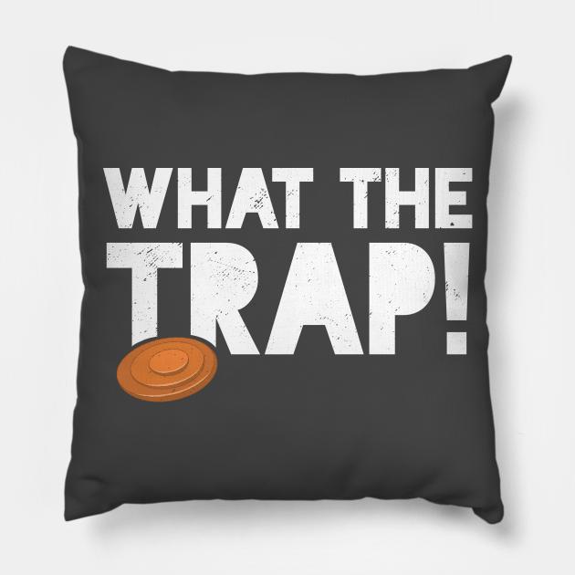 Trap Shooting T-Shirt Funny Skeet Pun What The Trap