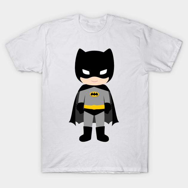 e7f824d7 kids batman - Funny Superhero Black And Yellow Man - T-Shirt | TeePublic