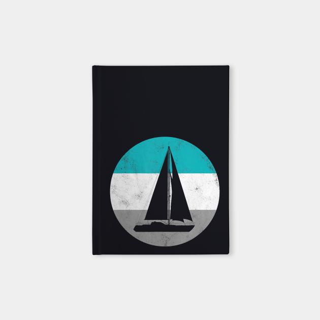 Sailboat Sailing Retro