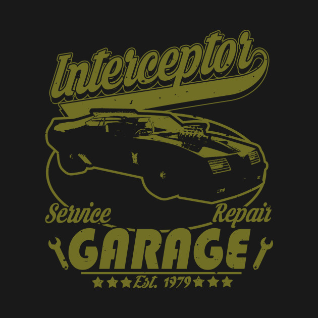 Interceptor Garage T-Shirt