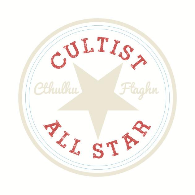 Cthulhu Cultist All Star - Cult - T-Shirt  9bc025bc42dec