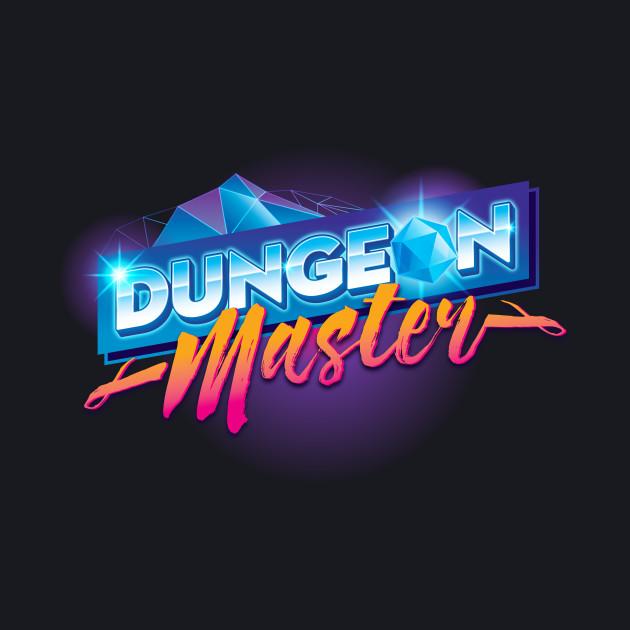 Dungeon Mastery Outrun Neon