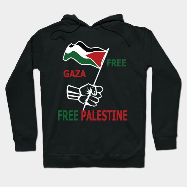 e71d69c6dde Free Gaza Free Palestine - Palestine - Hoodie | TeePublic