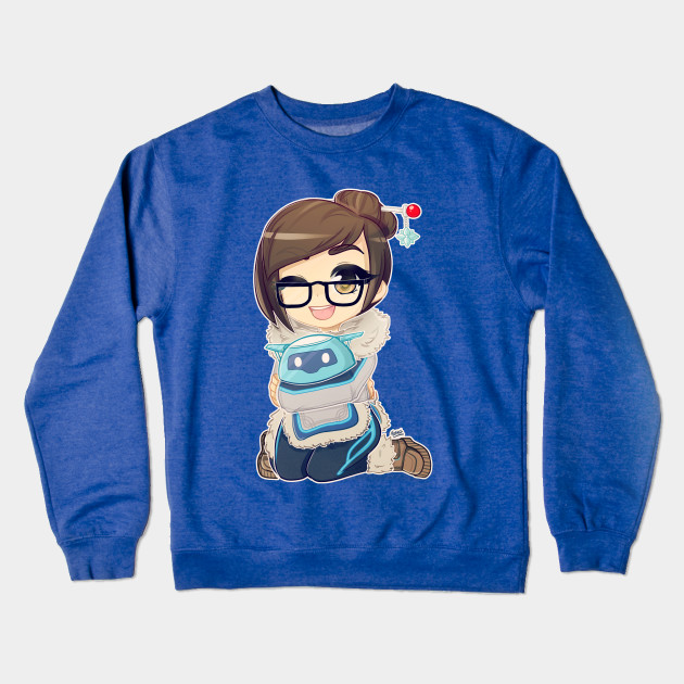 Overwatch - Mei - Merry Christmas Crewneck Sweatshirt