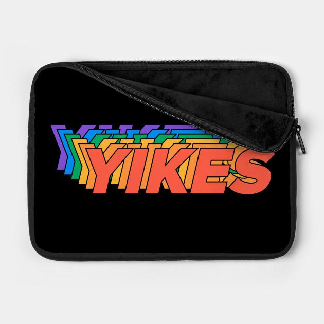 YIKES - Gay Pride - LGBT Rainbow Typographic