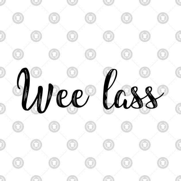 Wee lass