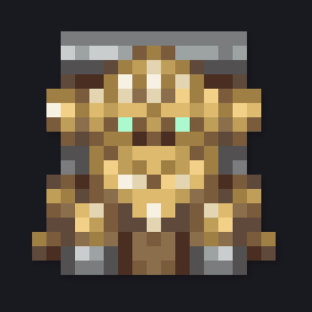 Robo low-res pixelart