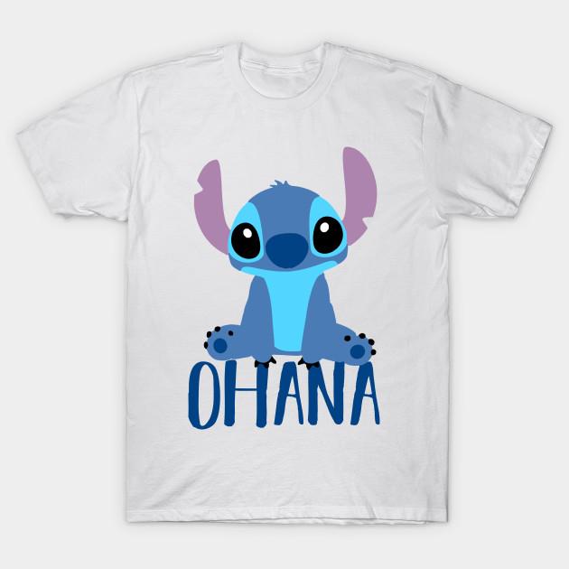 stitch ohana lilo and stitch t shirt teepublic