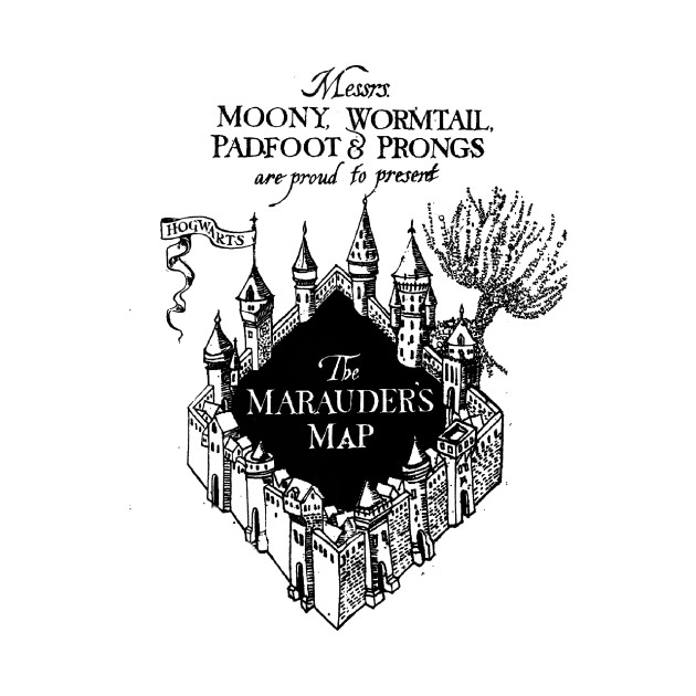 Image Result For The Mauraders Map