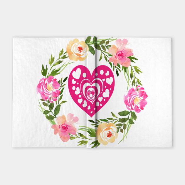 FLOWER HEART ART