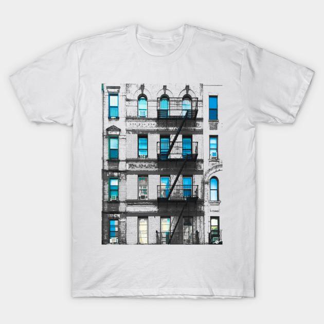 New York City Street Building USA T Shirt