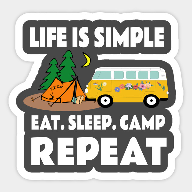 bc1ee0521 Funny Summer Camp - Funny Camping Sayings - Sticker | TeePublic