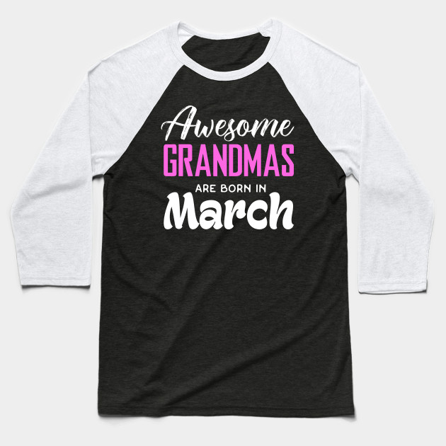 Grandma Birthday Shirts Baseball T Shirt