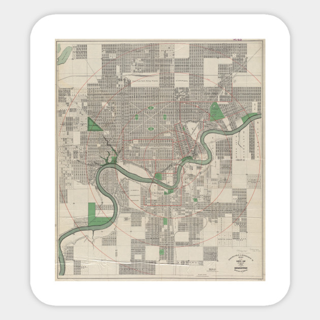 Edmonton City Map Map Of Canada City Geography