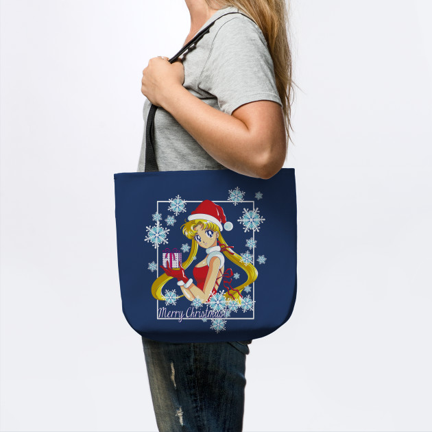Merry Christmas Sailor Moon Blue Version