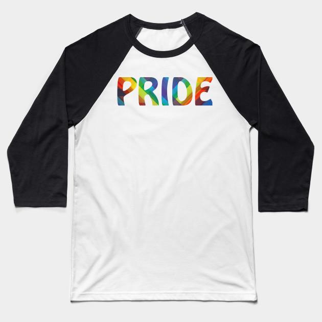 260ea629b8 Gay Pride Support Rainbow Colors LGBT Lesbian Gay Bisexual Transgender Clothing  Apparel Baseball T-Shirt