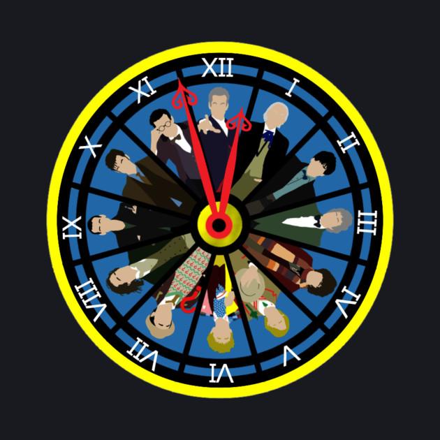 Tick Tock Doctor clock (Black)