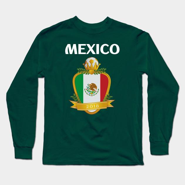 9c13bb486a5 Team Mexico Futbol El Tri - Mexico Soccer - Long Sleeve T-Shirt ...