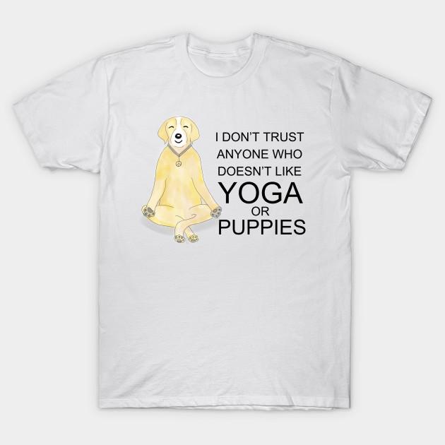 497839ee YOGA DOG - Funny - T-Shirt   TeePublic
