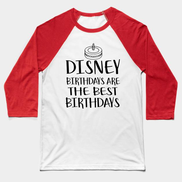 Disney Shirts Birthday For Women Men Bound Shirt Baseball T